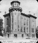 1895 - L'institut d'Hygiène, de bactériologie et de thérapeutique est situé au Parc Léopold