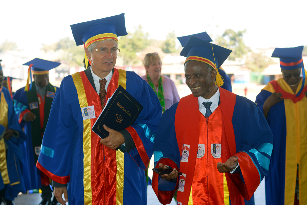 Philippe Donnen, Docteur honoris causa UNILU